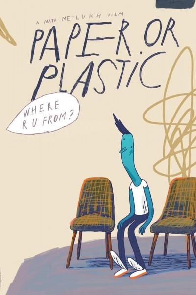 Caratula, cartel, poster o portada de Paper or Plastic
