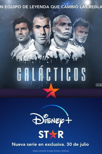 Caratula, cartel, poster o portada de Galácticos