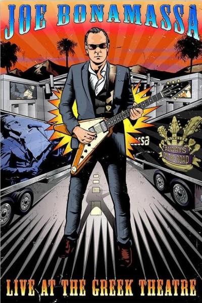 Caratula, cartel, poster o portada de Joe Bonamassa: Live at the Greek Theatre