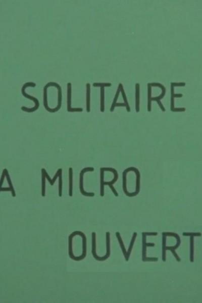 Caratula, cartel, poster o portada de Solitaire à micro ouvert