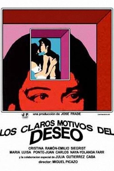 Caratula, cartel, poster o portada de Los claros motivos del deseo