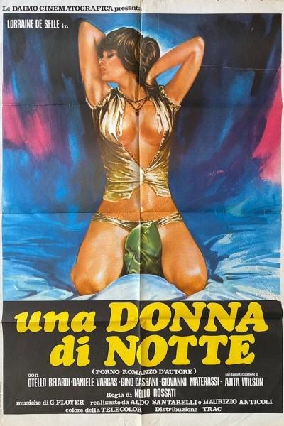 Caratula, cartel, poster o portada de Una donna di notte