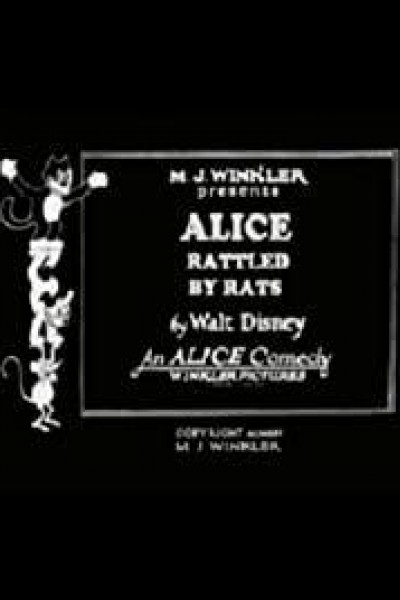 Caratula, cartel, poster o portada de Alice Rattled by Rats