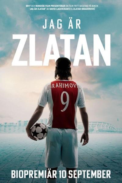 Caratula, cartel, poster o portada de I Am Zlatan