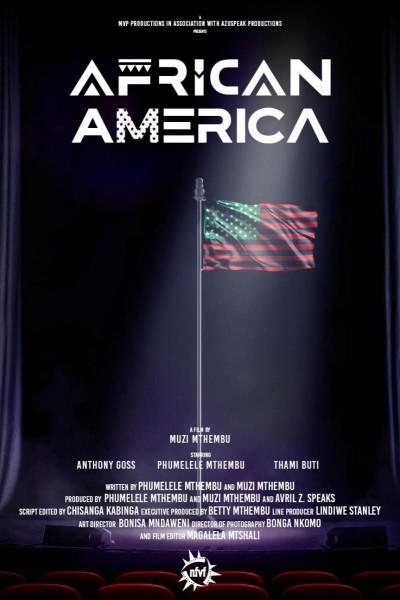 Caratula, cartel, poster o portada de African America