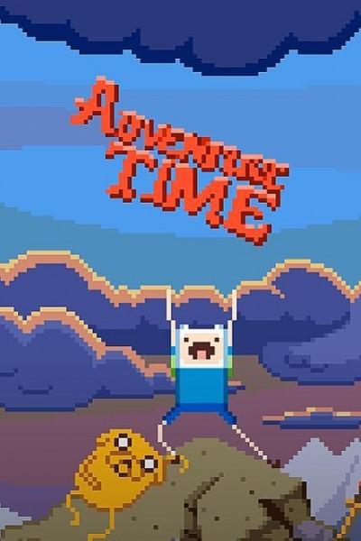 Caratula, cartel, poster o portada de Pixel Adventure Time