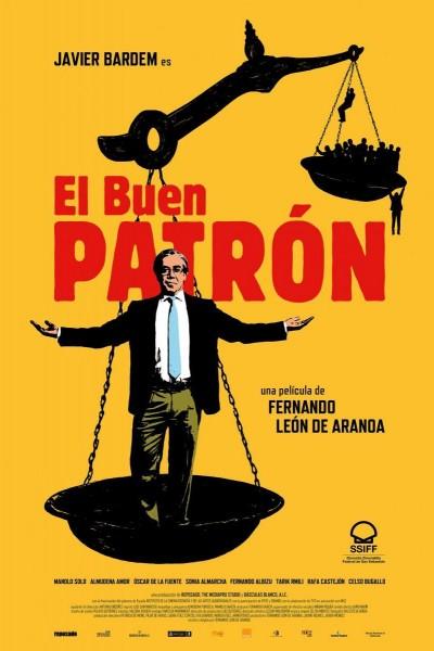 Caratula, cartel, poster o portada de El buen patrón