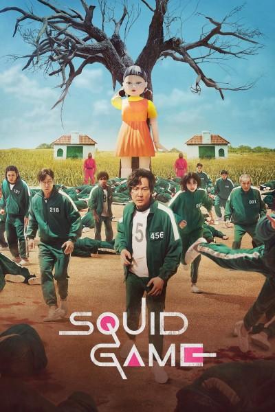 Caratula, cartel, poster o portada de El juego del calamar