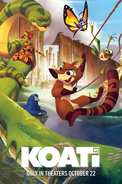 Caratula, cartel, poster o portada de Koati