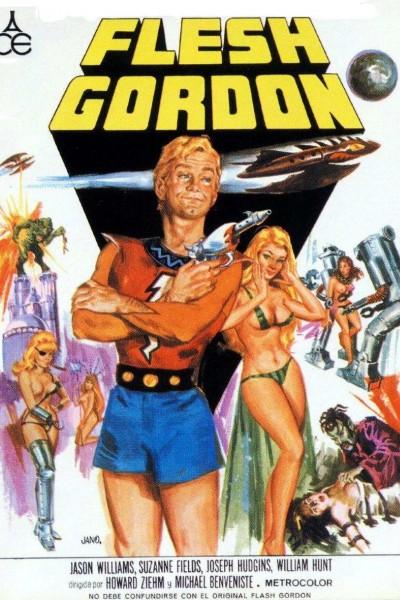 Caratula, cartel, poster o portada de Flesh Gordon