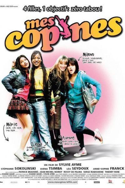 Caratula, cartel, poster o portada de Mes copines