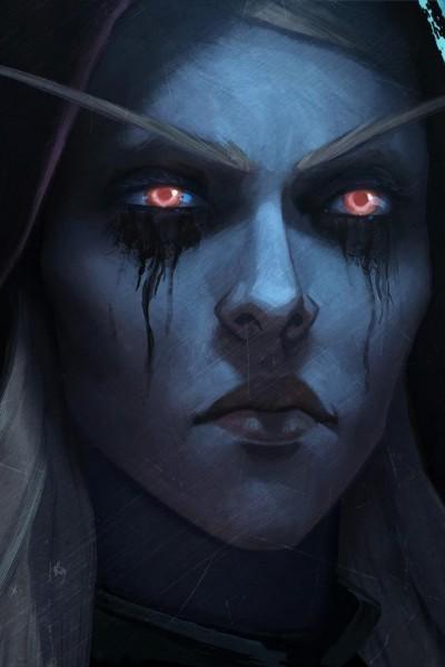 Caratula, cartel, poster o portada de World of Warcraft. Líderes de guerra: Sylvanas