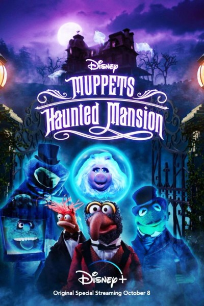Caratula, cartel, poster o portada de Los Muppets en Haunted Mansion