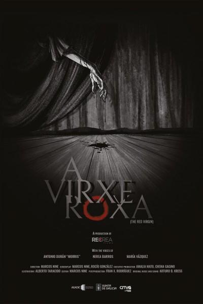 Caratula, cartel, poster o portada de A virxe roxa
