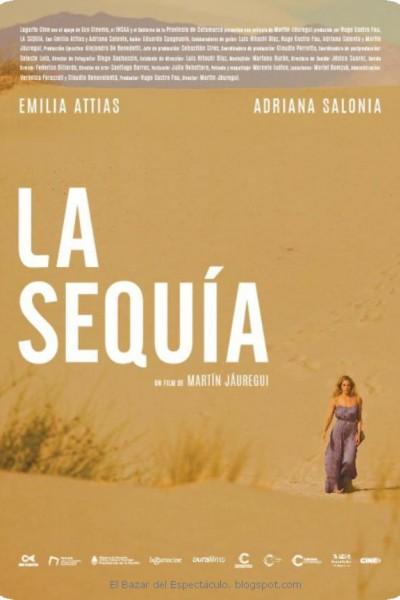 Caratula, cartel, poster o portada de La sequía