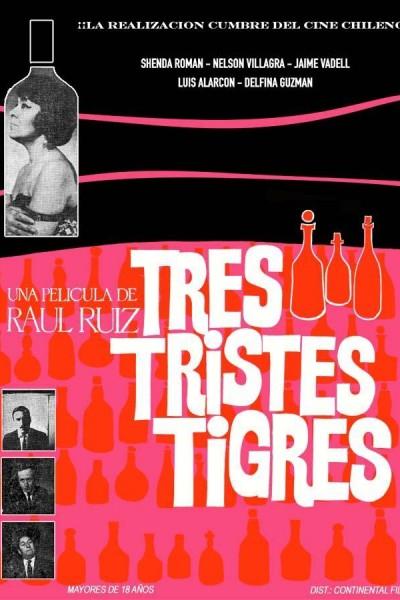 Caratula, cartel, poster o portada de Tres tristes tigres