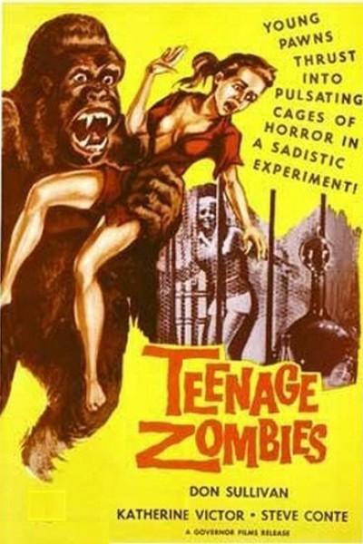 Caratula, cartel, poster o portada de Teenage Zombies