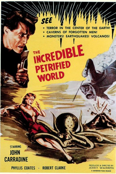 Caratula, cartel, poster o portada de El increíble mundo petrificado