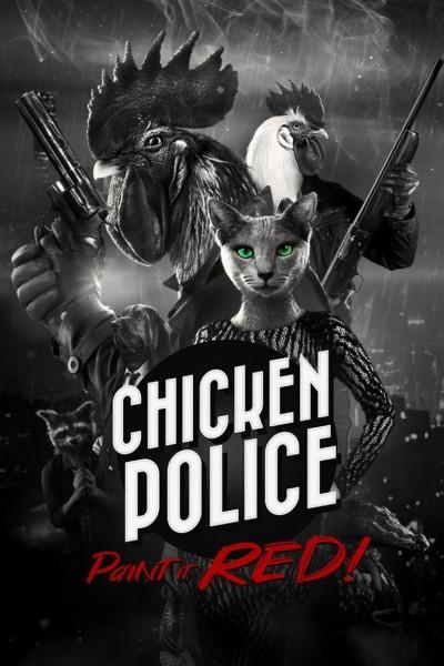 Caratula, cartel, poster o portada de Chicken Police
