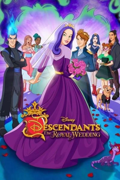 Caratula, cartel, poster o portada de Descendants: The Royal Wedding