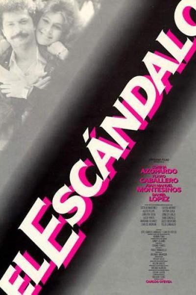 Caratula, cartel, poster o portada de El escándalo