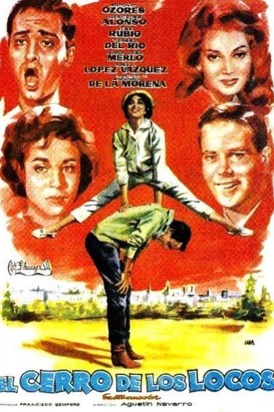 Caratula, cartel, poster o portada de El cerro de los locos