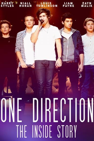 Caratula, cartel, poster o portada de One Direction: The Inside Story