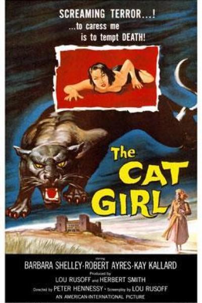 Caratula, cartel, poster o portada de Cat Girl