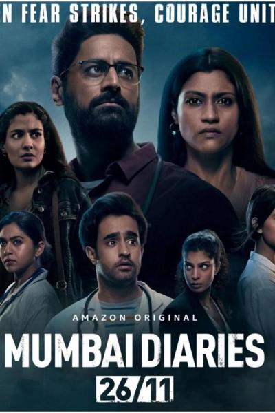 Caratula, cartel, poster o portada de Mumbai Diaries 26/11