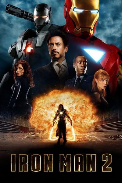 Caratula, cartel, poster o portada de Iron Man 2