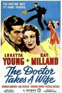 Caratula, cartel, poster o portada de El doctor se casa