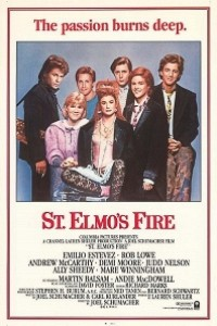 Caratula, cartel, poster o portada de St. Elmo, punto de encuentro