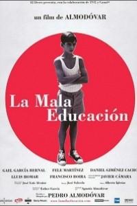 Caratula, cartel, poster o portada de La mala educación