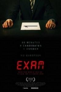 Caratula, cartel, poster o portada de Examen