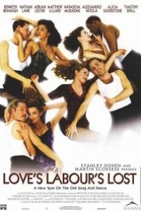 Caratula, cartel, poster o portada de Trabajos de amor perdidos