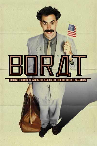 Caratula, cartel, poster o portada de Borat: Lecciones culturales de América para beneficio de la gloriosa nación de Kazajistán