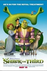 Caratula, cartel, poster o portada de Shrek Tercero (Shrek 3)