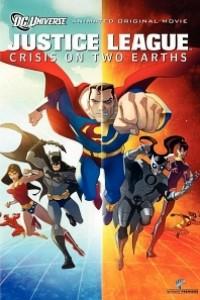 Caratula, cartel, poster o portada de Liga de la Justicia: Crisis en dos Tierras