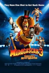 Caratula, cartel, poster o portada de Madagascar 3: De marcha por Europa