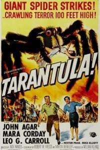 Caratula, cartel, poster o portada de Tarántula