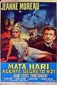 Caratula, cartel, poster o portada de Mata-Hari, agente H-21