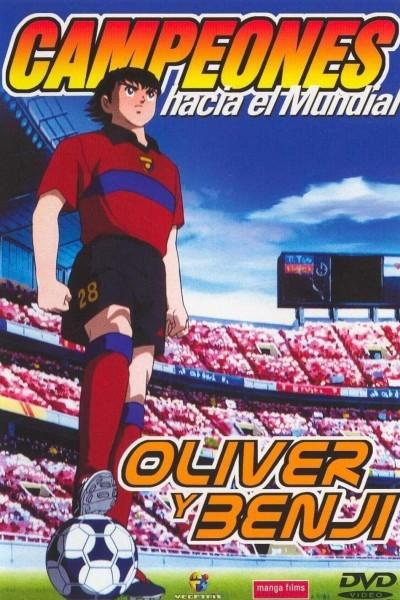 Caratula, cartel, poster o portada de Campeones hacia el Mundial: Oliver y Benji (Super Campeones: 2002)