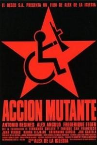 Caratula, cartel, poster o portada de Acción mutante