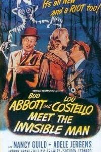 Caratula, cartel, poster o portada de Abbott y Costello contra el hombre invisible