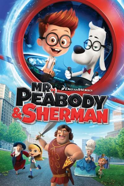 Caratula, cartel, poster o portada de Las aventuras de Peabody y Sherman