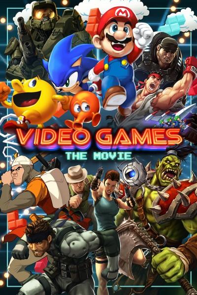 Caratula, cartel, poster o portada de Video Games: The Movie