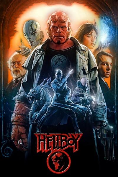 Caratula, cartel, poster o portada de Hellboy