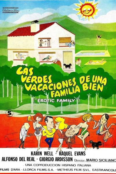 Caratula, cartel, poster o portada de Las verdes vacaciones de una familia bien