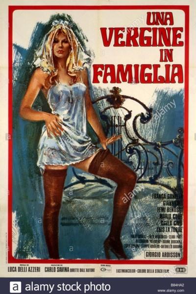 Caratula, cartel, poster o portada de Una virgen en la familia