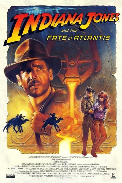 Caratula, cartel, poster o portada de Indiana Jones and the Fate of Atlantis